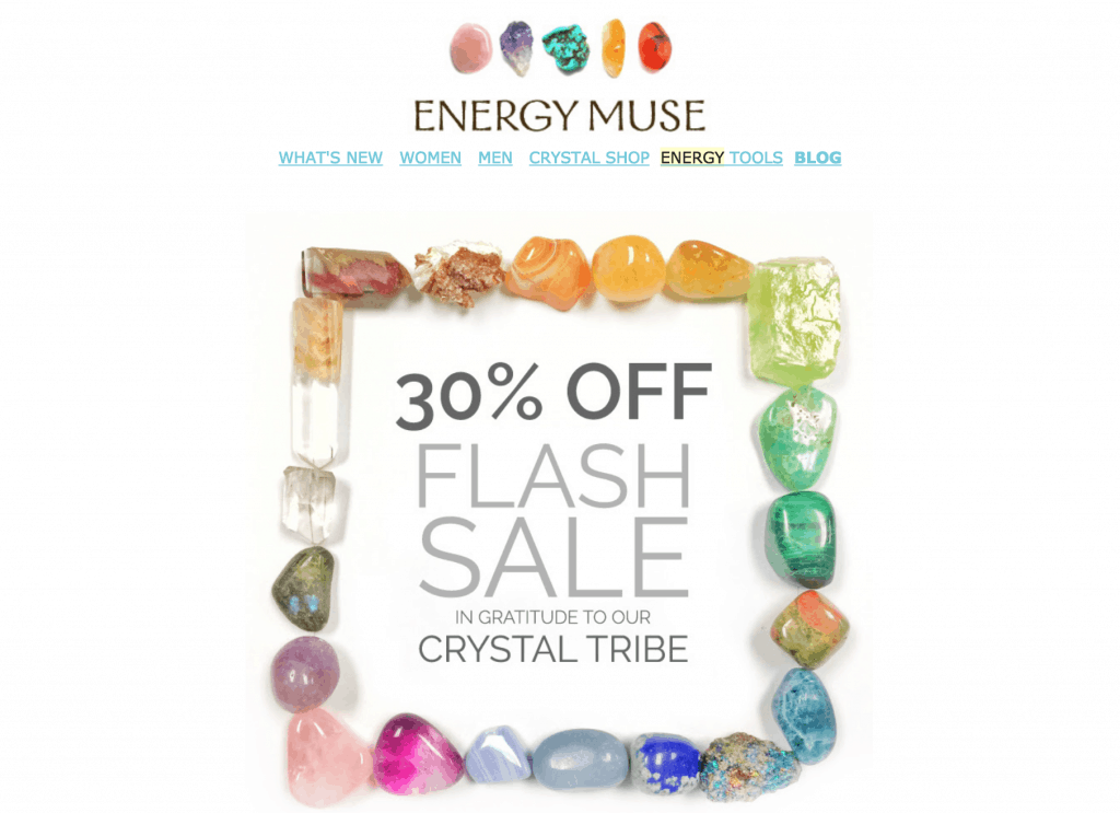 Energy Muse offering 30% off